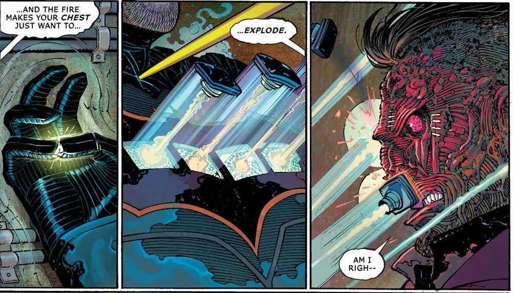 'All-Star Batman' #4 art by John Romita Jr., Danny Miki & Declan Shalvey