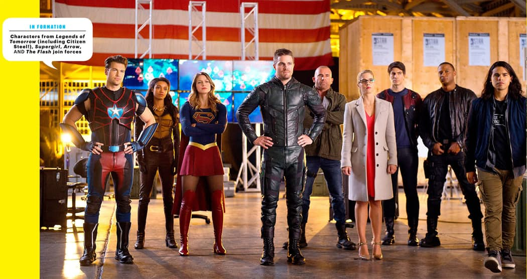 The casts of 'Arrow', 'Flash', 'Supergirl' & 'Legends of Tomorrow'