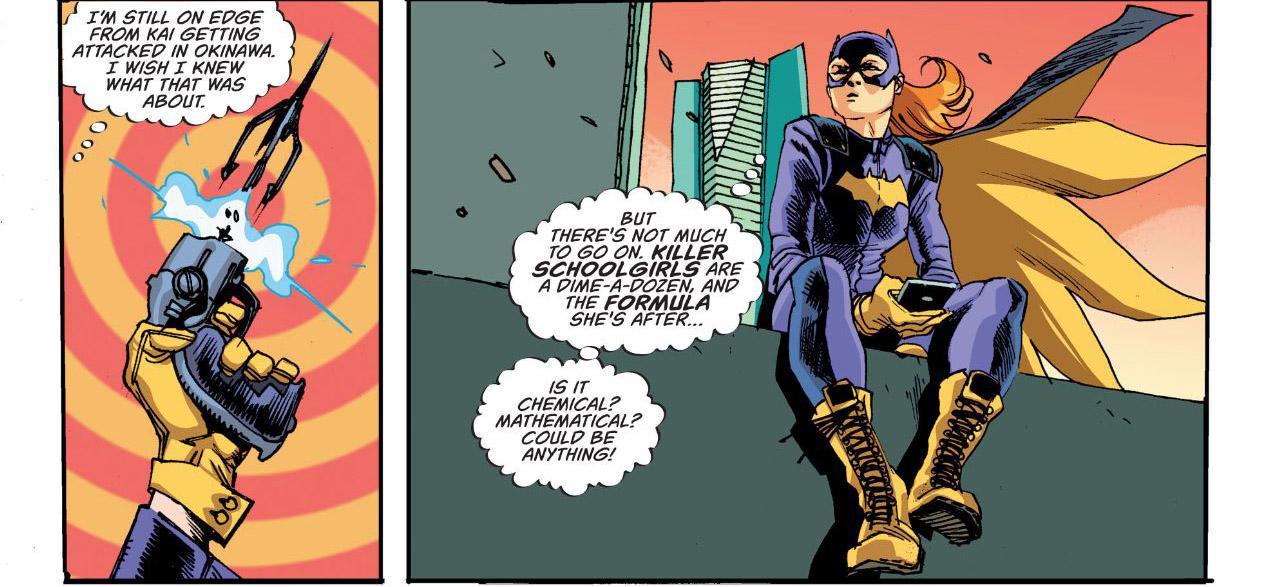 'Batgirl' #2 artwork