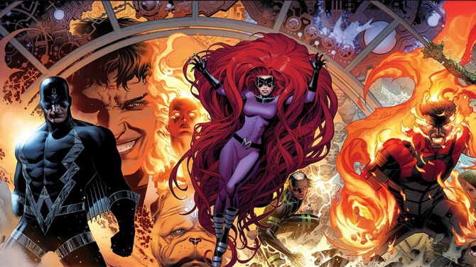 Marvel's 'The Inhumans' art