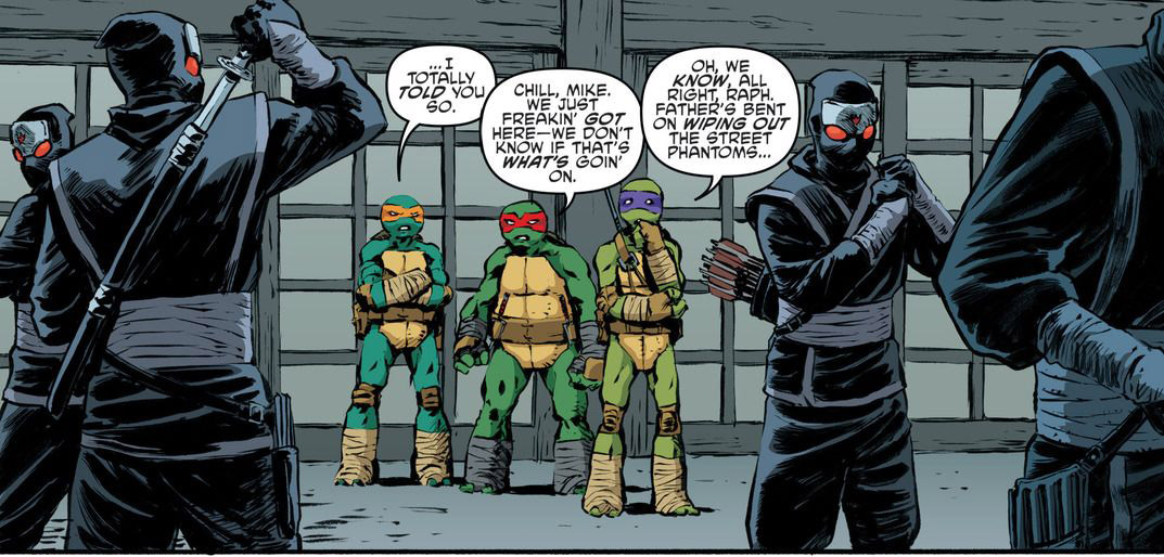 'TMNT' #63 art by Dave Watcher