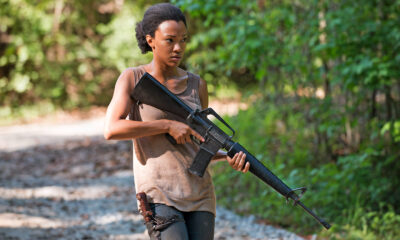 Sonequa Martin-Green in 'The Walking Dead'