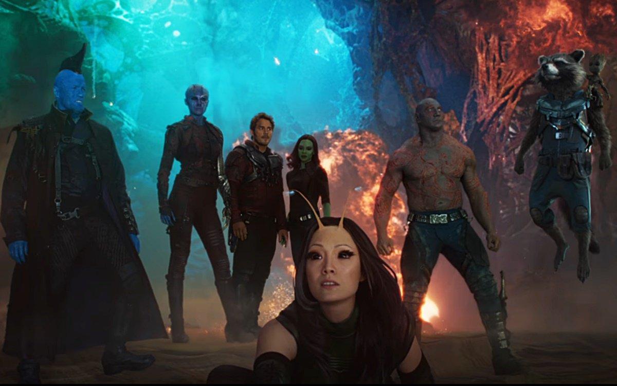 'Guardians of the Galaxy Vol. 2' cast - Marvel