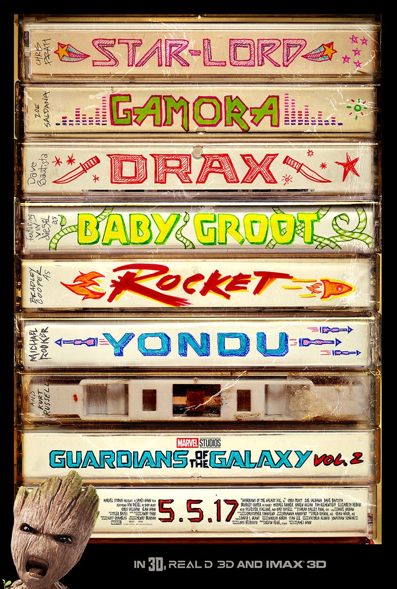 'Guardians of the Galaxy Vol. 2' poster - Marvel