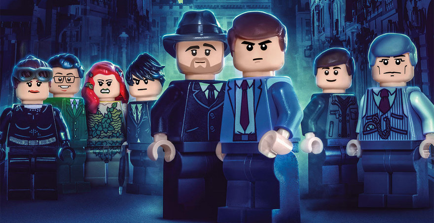 The cast of 'LEGO Gotham'