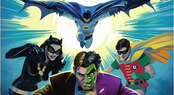 Batman vs. Two-Face cover art