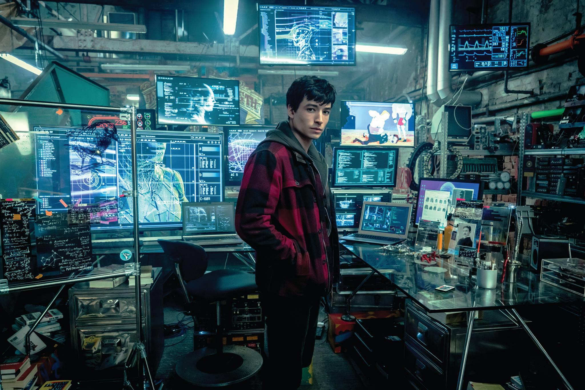 Ezra Miller in 'Justice League'