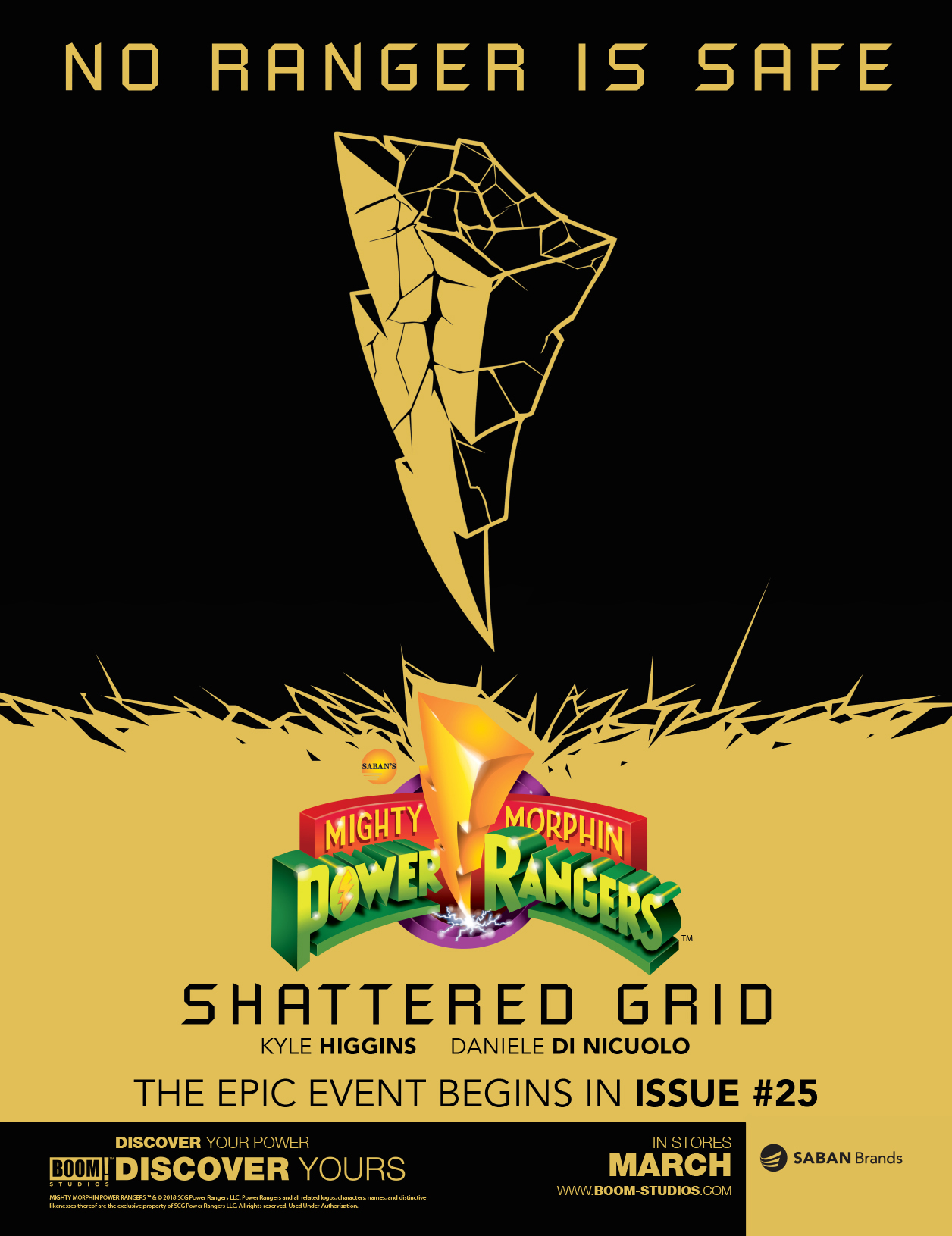 Power Rangers: Shattered Dimensions