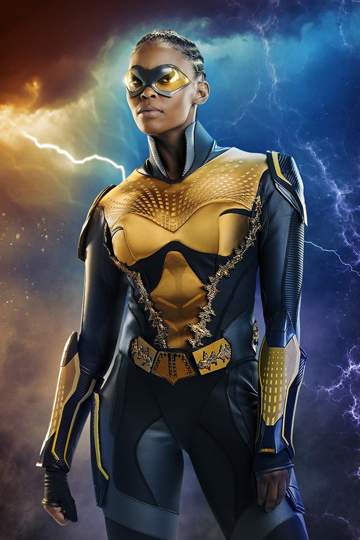 Nafessa Williams as Thunder in 'Black Lightning'