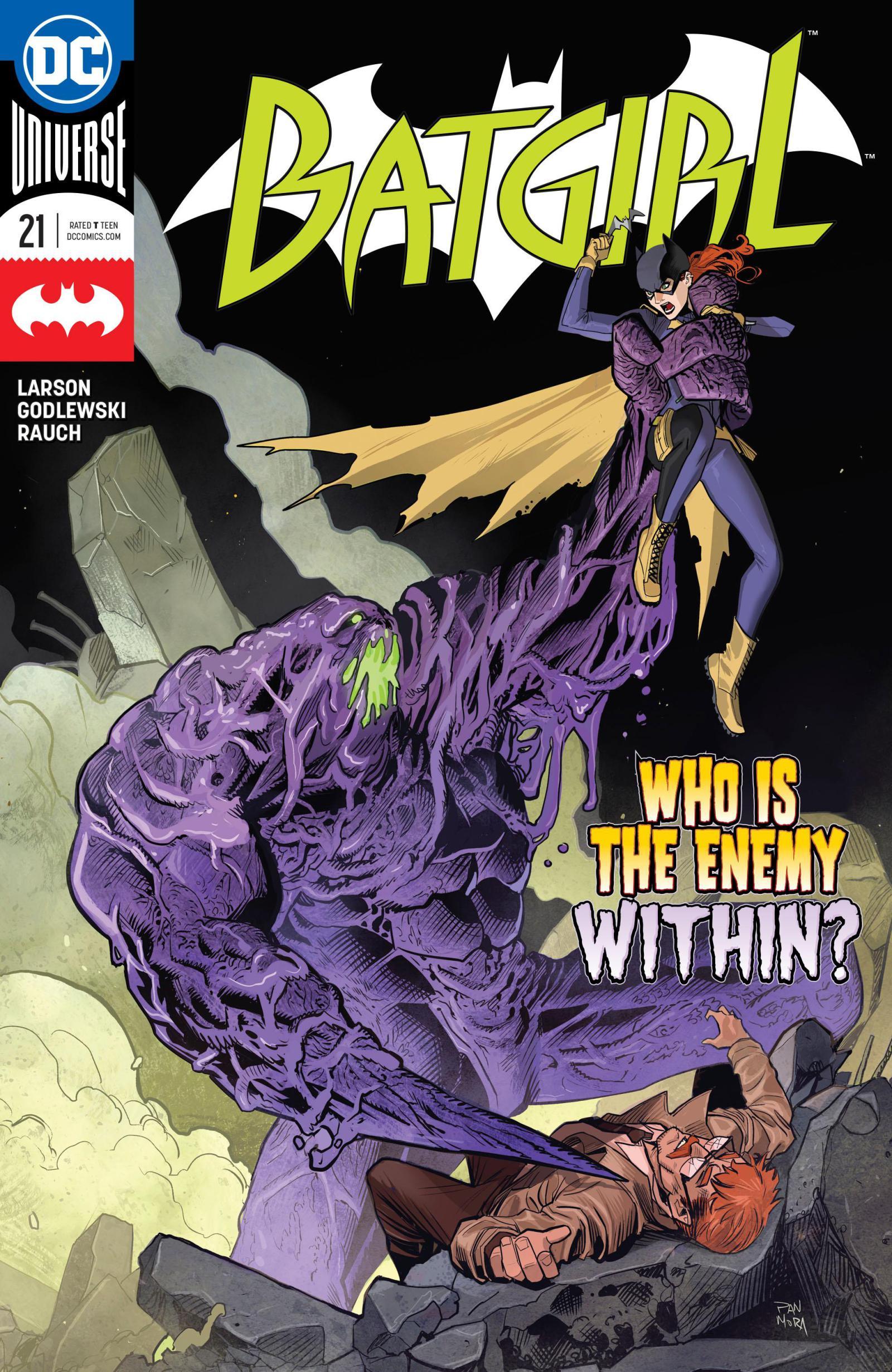 BATGIRL #21 cover by Dan Mora