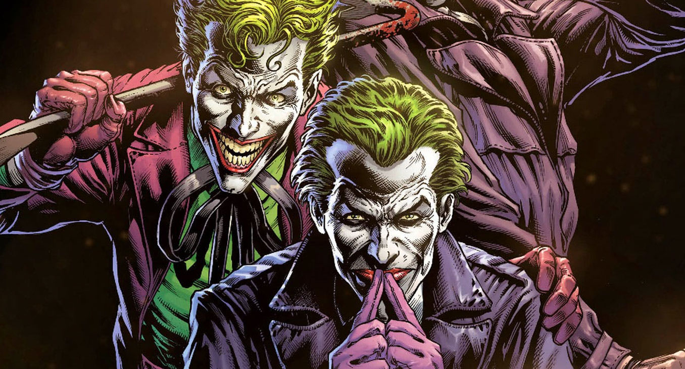 Three Jokers artwork by Jason Fabok