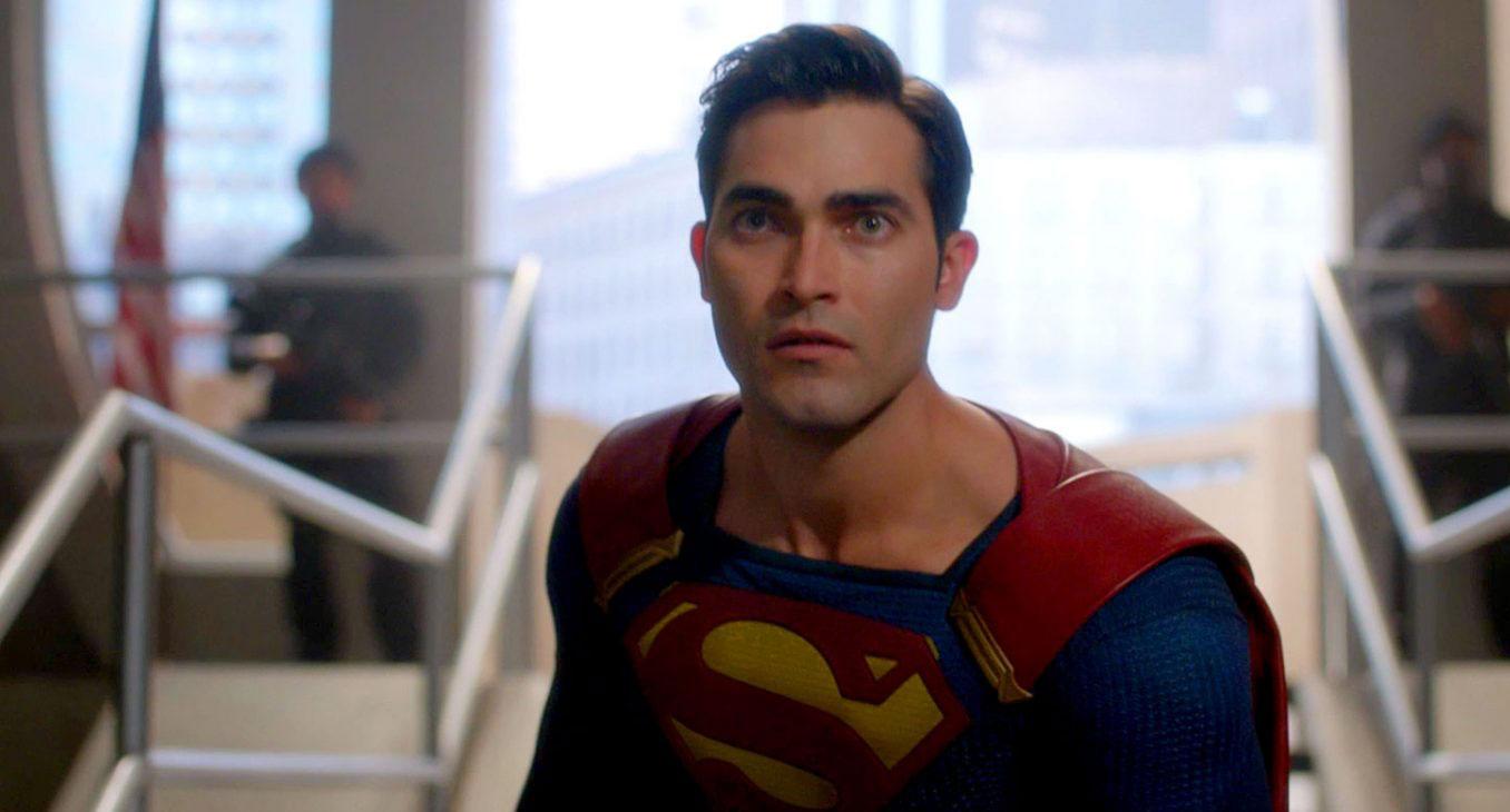 Tyler Hoechlin as Superman in Supergirl