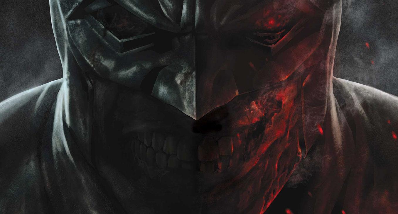 Batman: Damned #1 art by Lee Bermejo