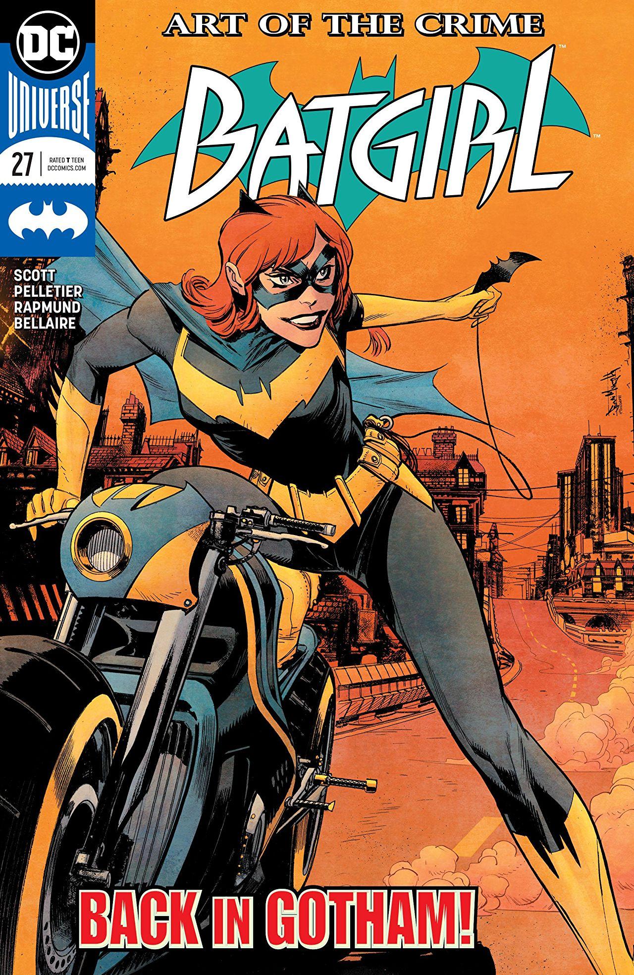 Batgirl #27 cover by Matt Hollingsworth and Sean Murphy