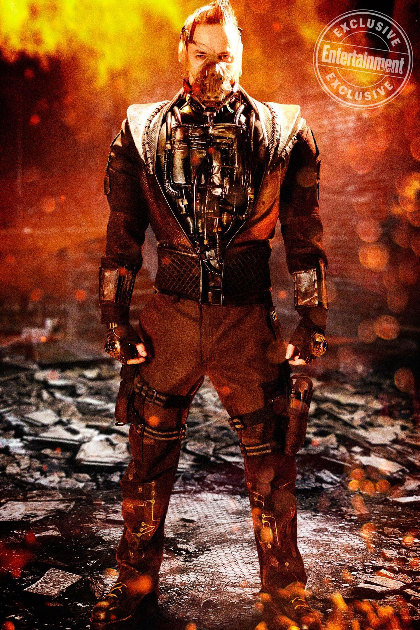 Shane West as Bane in GOTHAM - EW