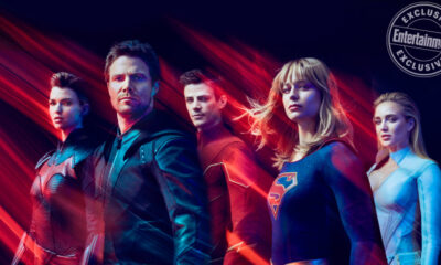 The DCTV stars (EW)