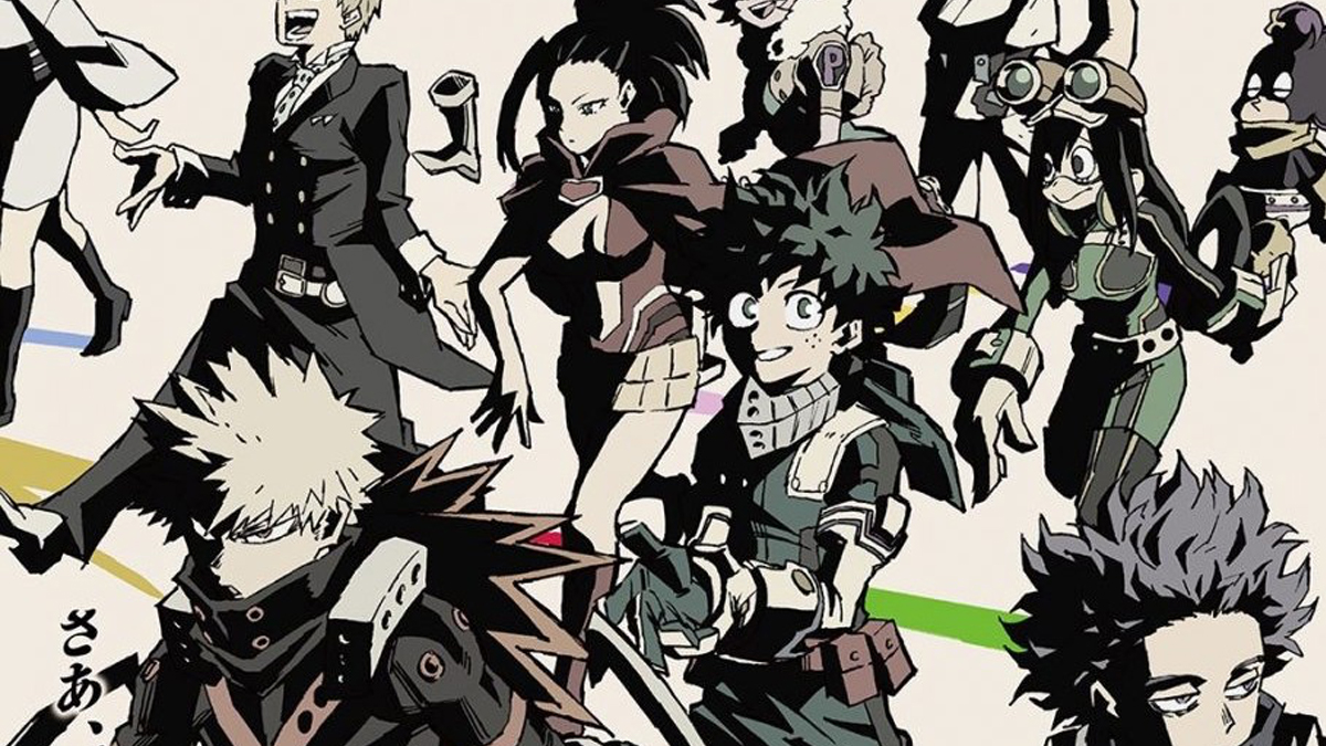 My Hero Academia Debuts Season 5 Teaser Get Your Comic On