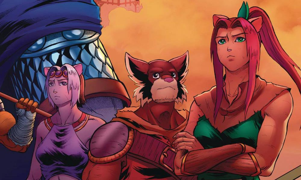 Battlecasts Volume 3 #1 (Mad Cave Studios)