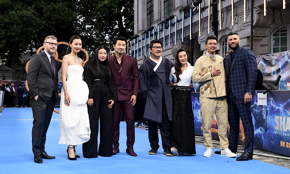 The Cast of Marvel Studios Shang-Chi